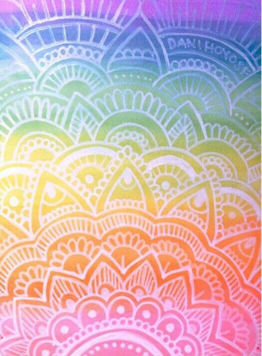 Mandala Drawing Doodle Henna Art Wallpapers Iphone Amazing Wallpaper Backgrounds