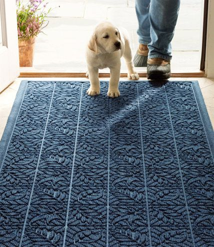 Need This For Just Inside The Front Door! Waterhog Indoor Doormat, Leaf  Pattern Large: L.L.Bean