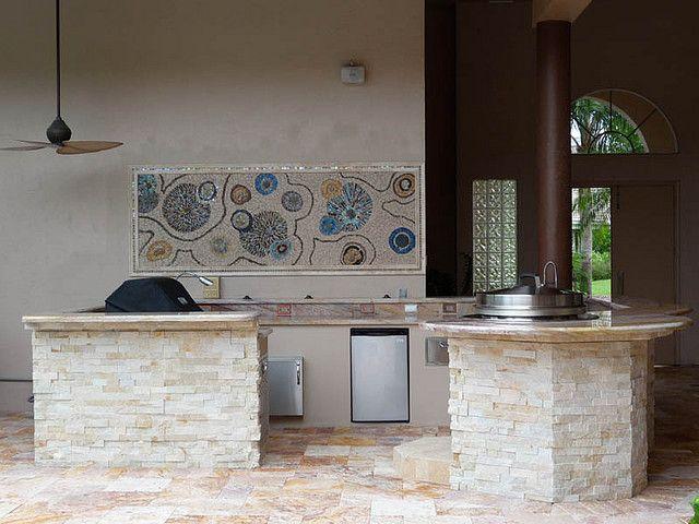 Outdoor Bar Countertop Ideas For The Special Concept