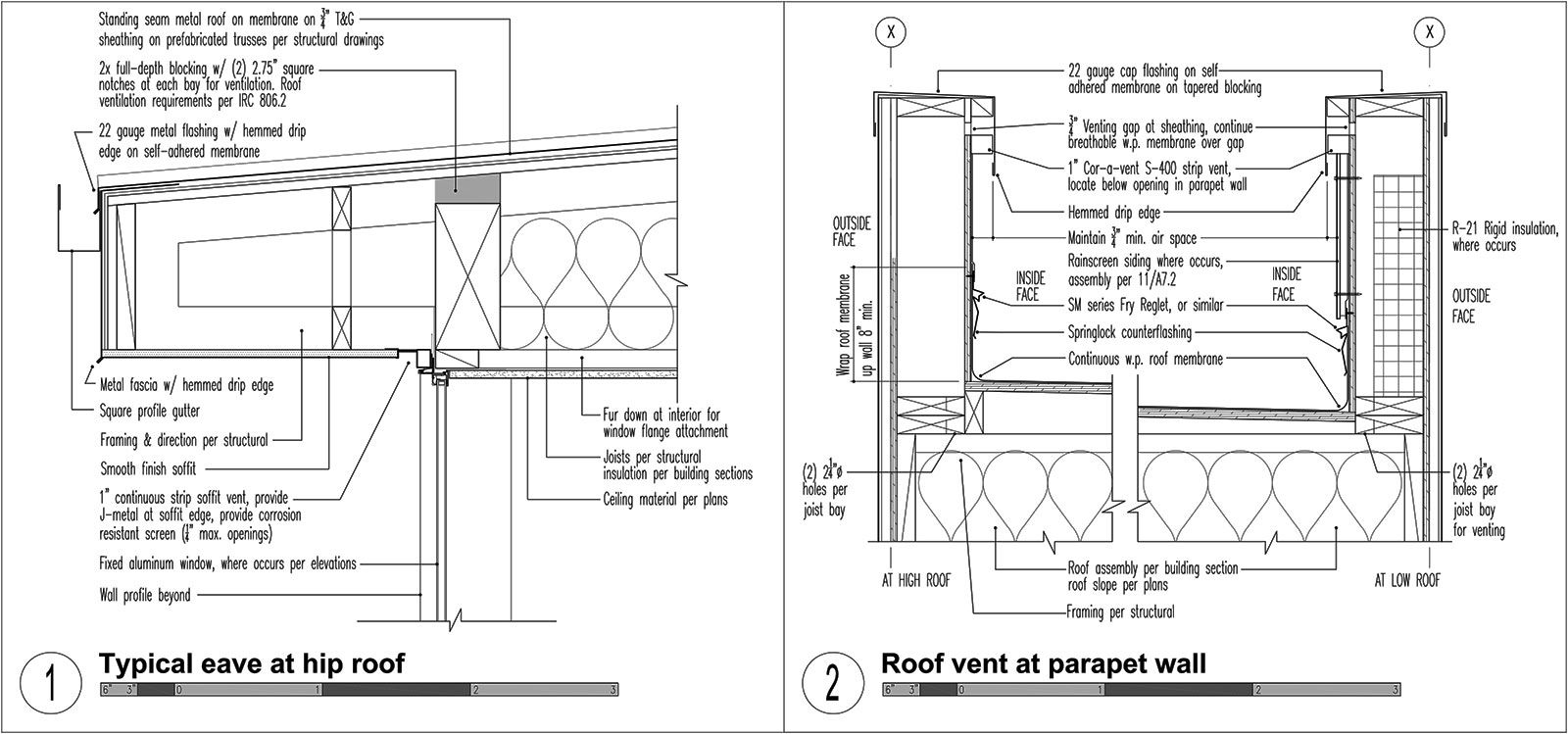 Three Structures Four Roof Types Build Blog Roof Types Modern Roofing Roof Architecture