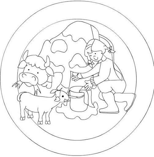 Dibujos y Plantillas para imprimir: Mandalas para niños   De Todo un ...