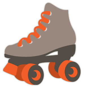 Scrappin Out Loud Free Svg Roller Skate Roller Skating Party Roller Skate Birthday Roller Skating