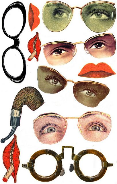 eyes, mouths etc. --plusplus biduleschosescc | Flickr - Photo Sharing!