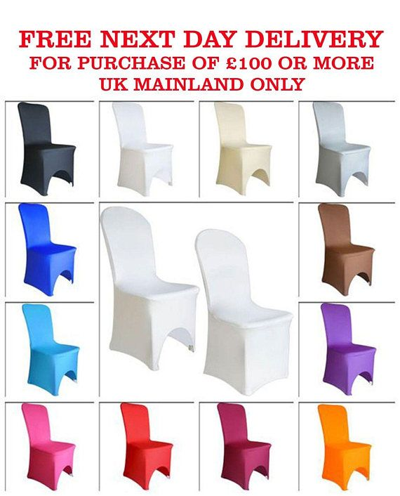 chair covers for purchase pet recliners spandex amazon com white wedding arched front 12 colours anniversary