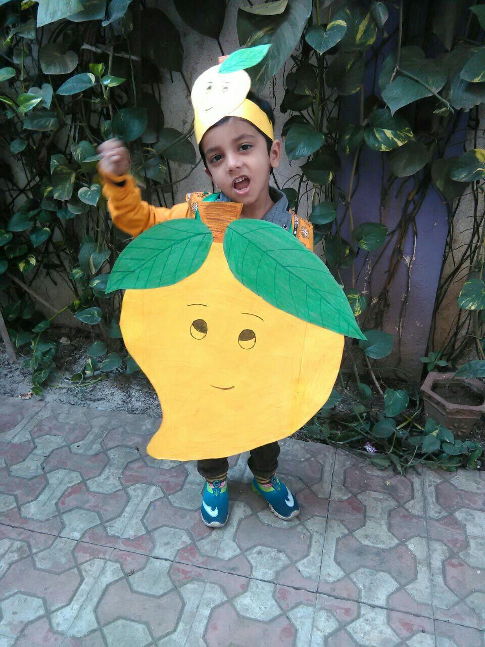 Fancy dress competition...preschool Mango Fancy dress