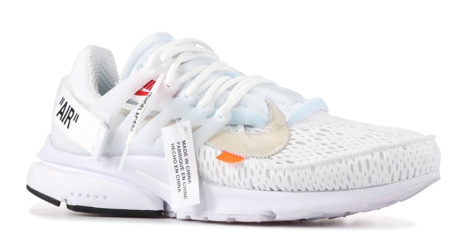 Off-White x Nike Air Presto 'White