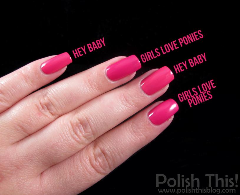 Opi Girls Love Ponies Polish This!: N...