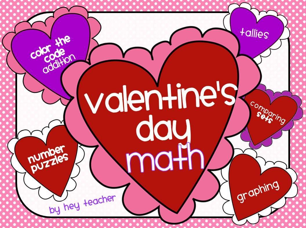 Kindergarten Amp First Valentine S Day Math