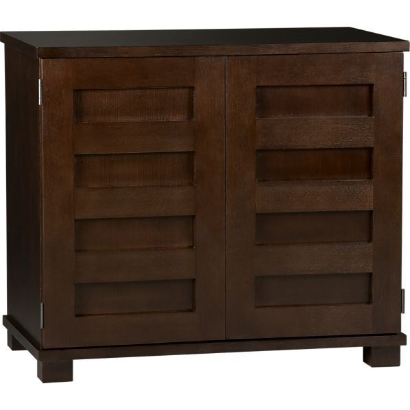 Incognito Mocha Compact Office In Desks Crate And Barrel