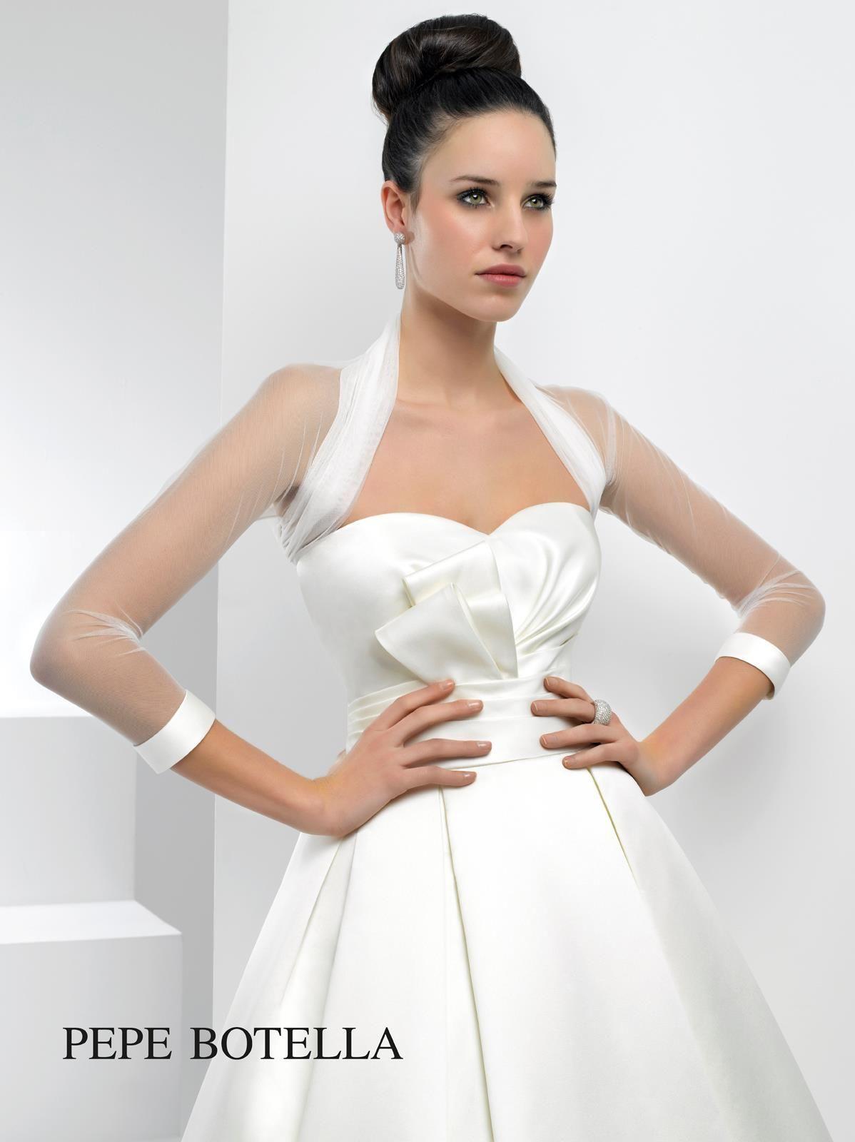 Designer Brautkleider Peppe Botella bei ANNA MODA in Köln ...