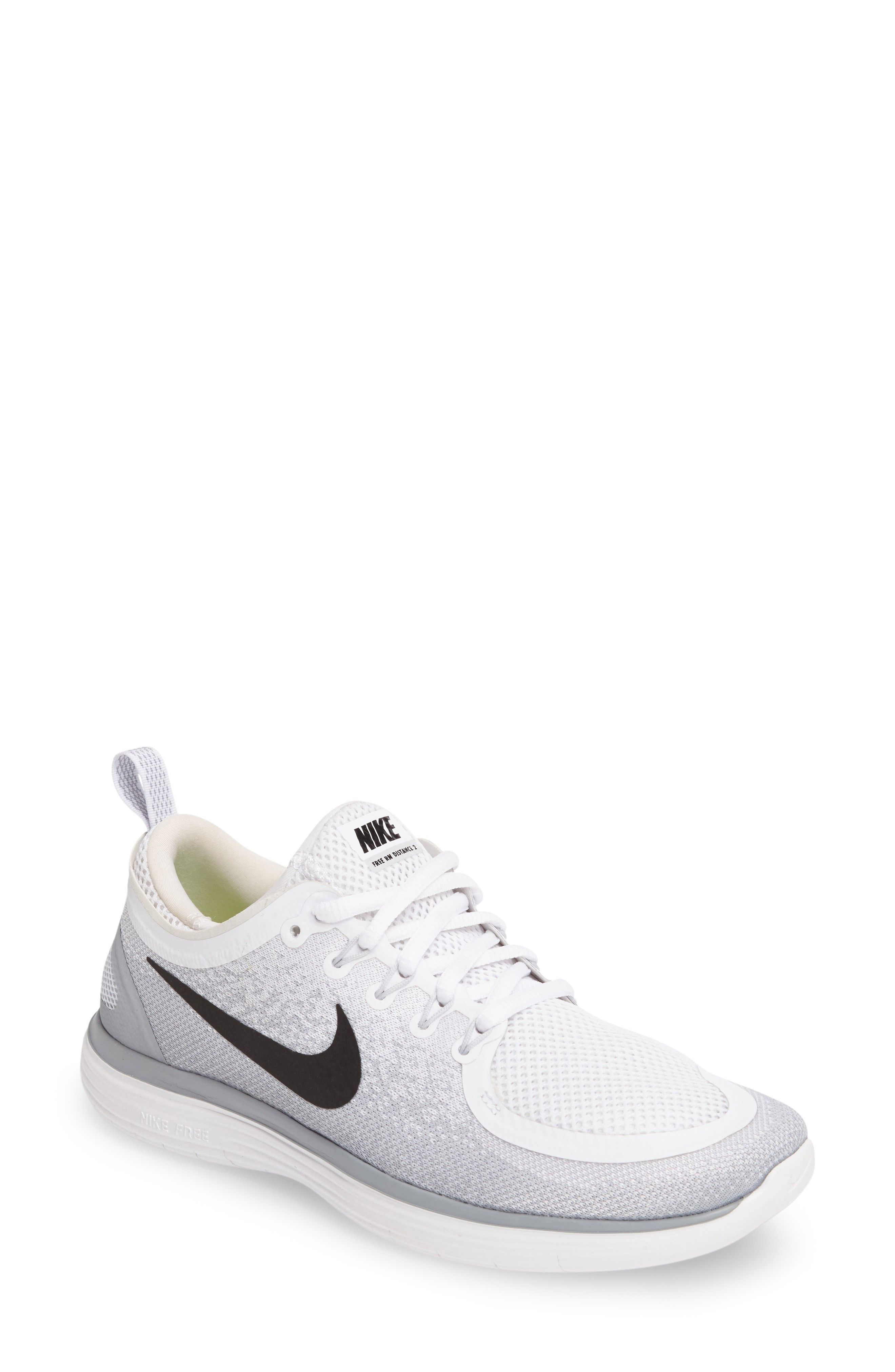 Main Image - Nike Free Run Distance 2 Running Shoe (Women)