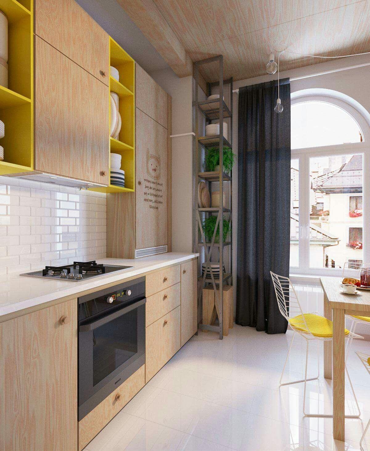 pin by hristo rashkov on kitchens interior design kitchen kitchen design yellow kitchen decor on kitchen interior yellow and white id=36745
