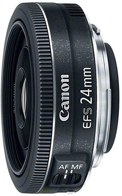 Amazon Com Canon Ef S 24mm F 2 8 Stm Lens Camera Photo Canon Lens Dslr Lenses Canon Ef