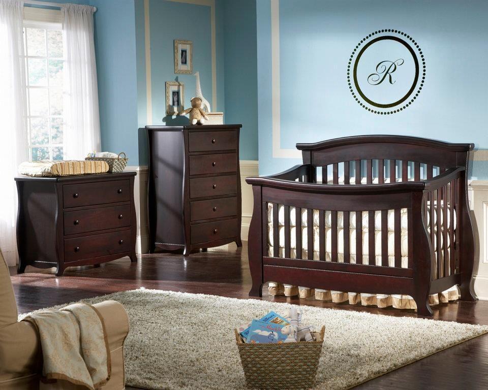 Renaissance Crib in espresso finish. | Home interior | Pinterest