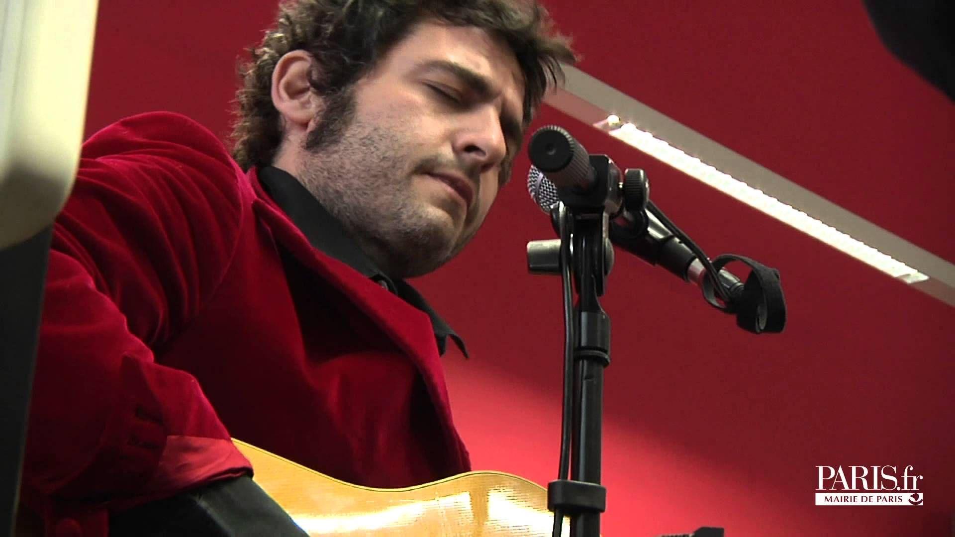 Concert de -M- en hommage à sa grand-mère Andrée Chedid