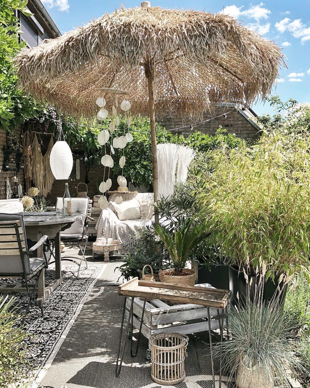 Bambus Dekoschirm Mandisa Terassenideen Wohnen Im Freien