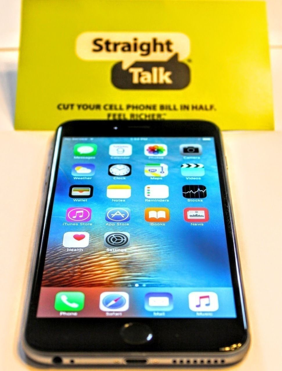 Apple Iphone 6 Plus 16gb 64gb Space Gray Straight Talk Smartphone Apple Iphone 6 Iphone 6 Plus Smartphone
