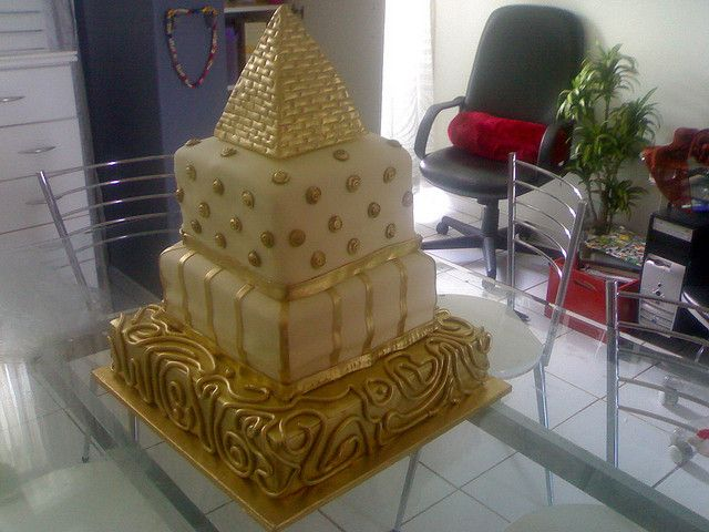 Egyptian Cake | Egyptian Themed Birthday Cake | Flickr   Photo Sharing!