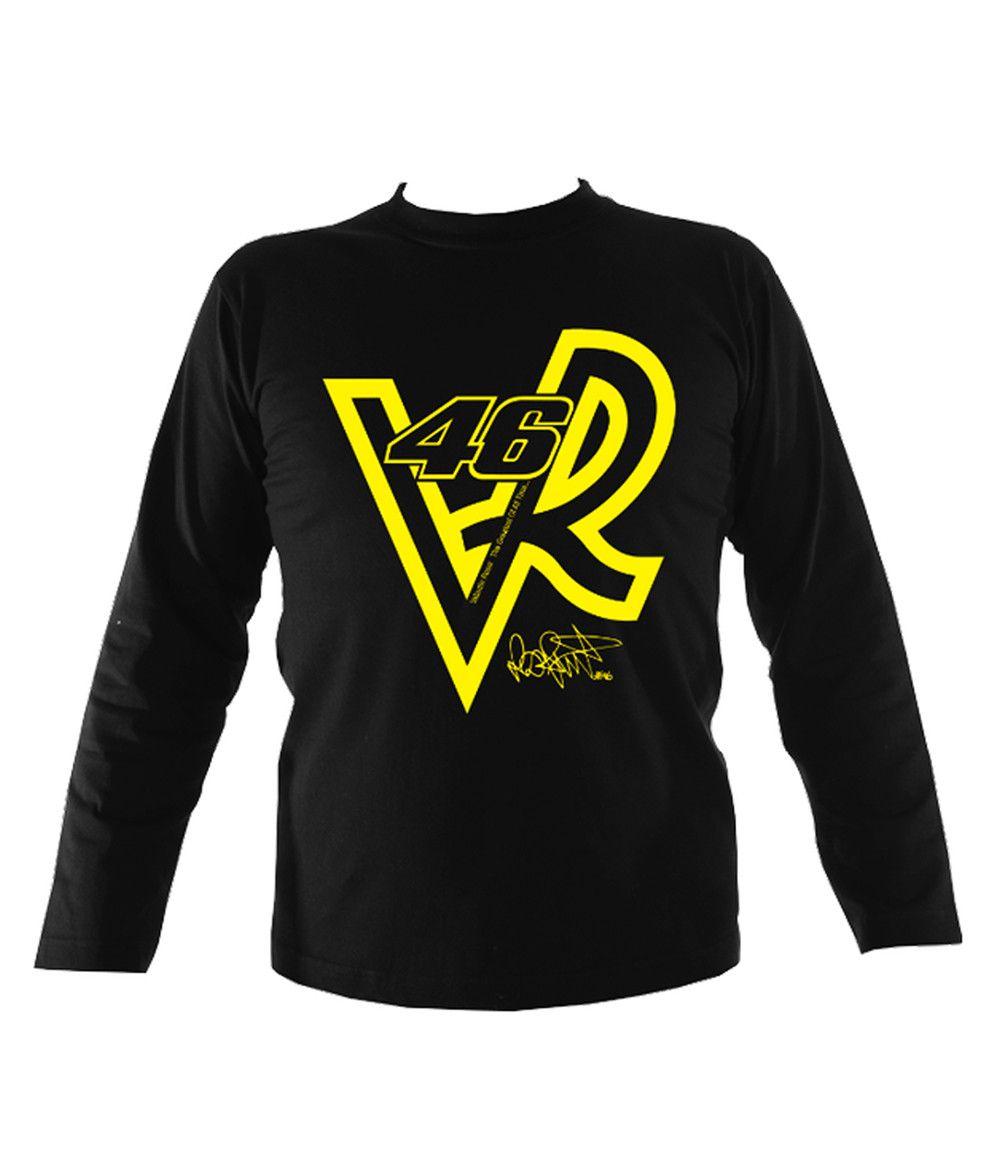 Valentino Rossi VR46 Mens Long Sleeve T-Shirt