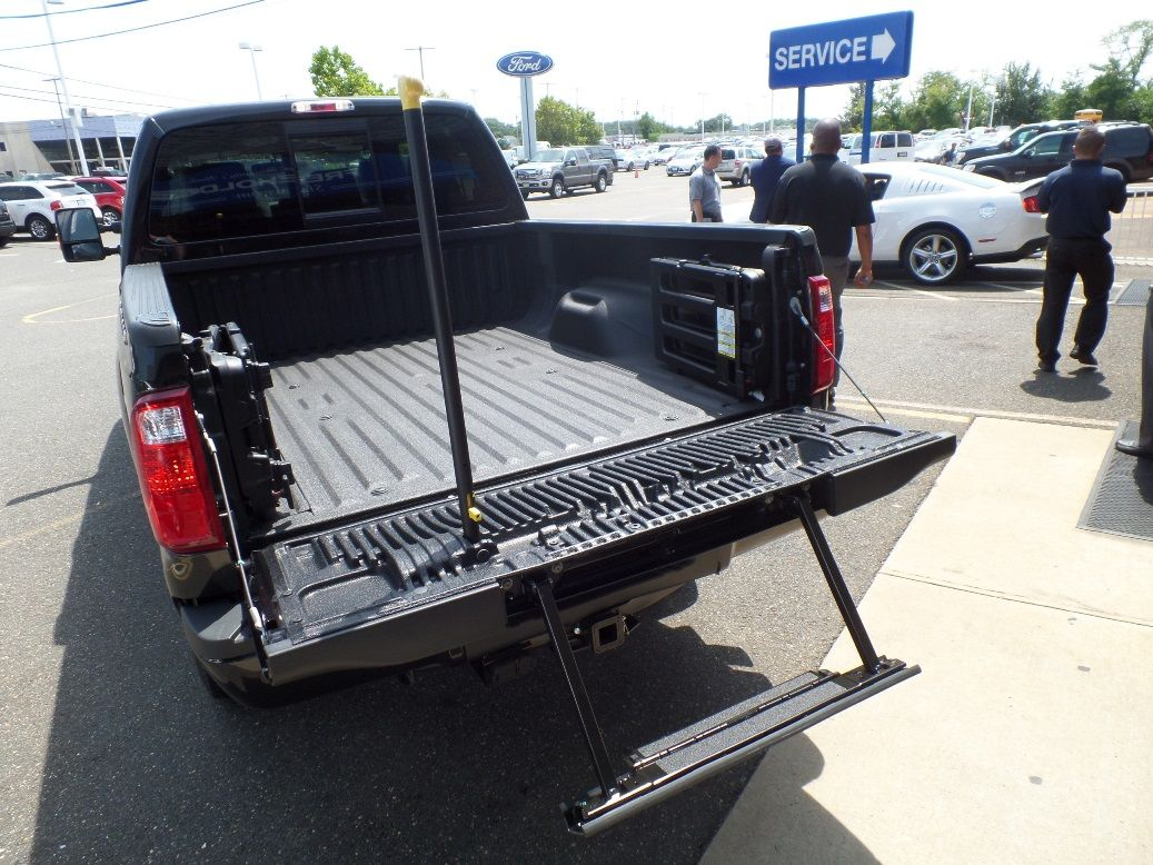 Beautiful 2015 F 350 Platinum Diesel Tailgate Step Ford