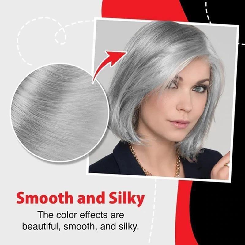 Silver Hair Dye Cream Gallery