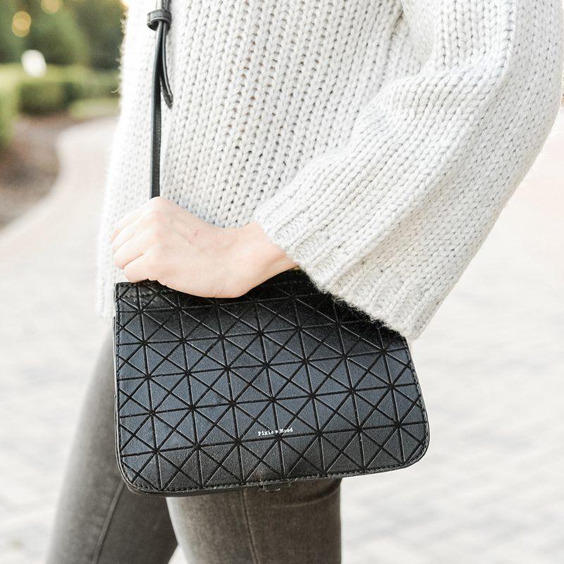 Fancy - Laura Geometric Crossbody Bag