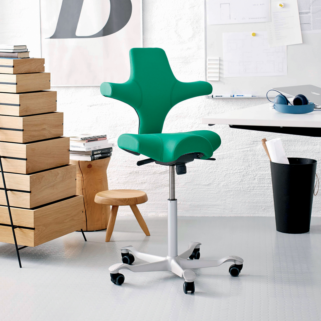 Capisco Chair By H 197 G Ergo Depot Products Single Chair