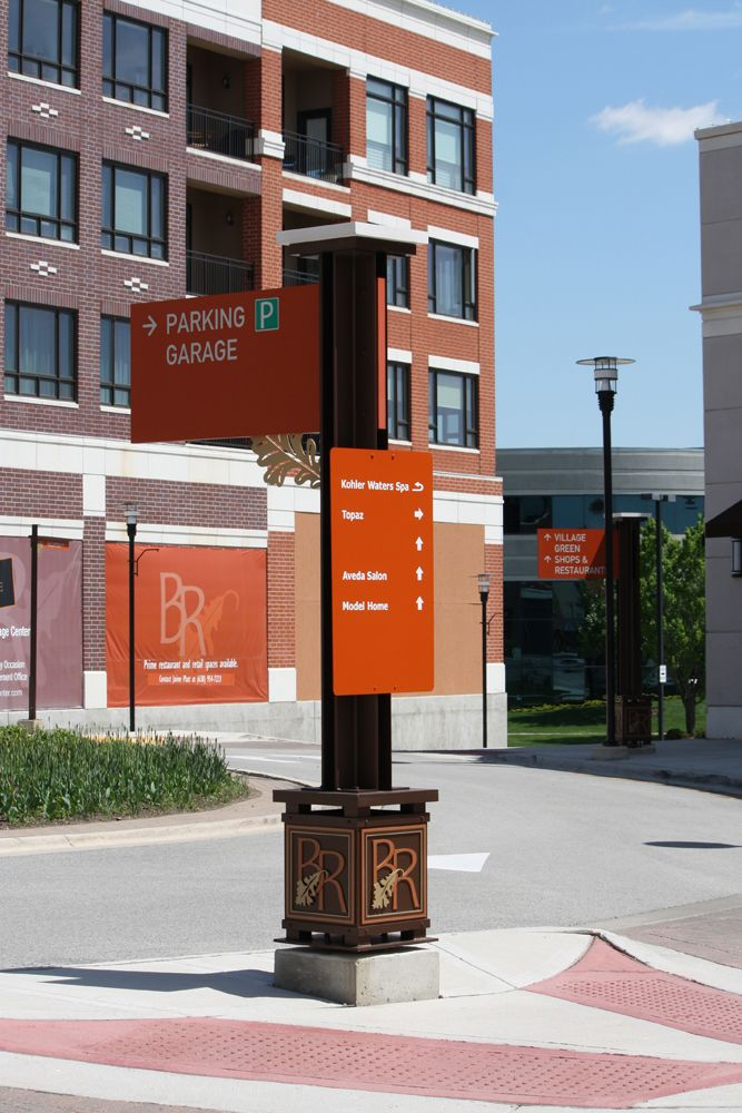 Burr Ridge Center Serigraphics Sign Company 거리 표지판
