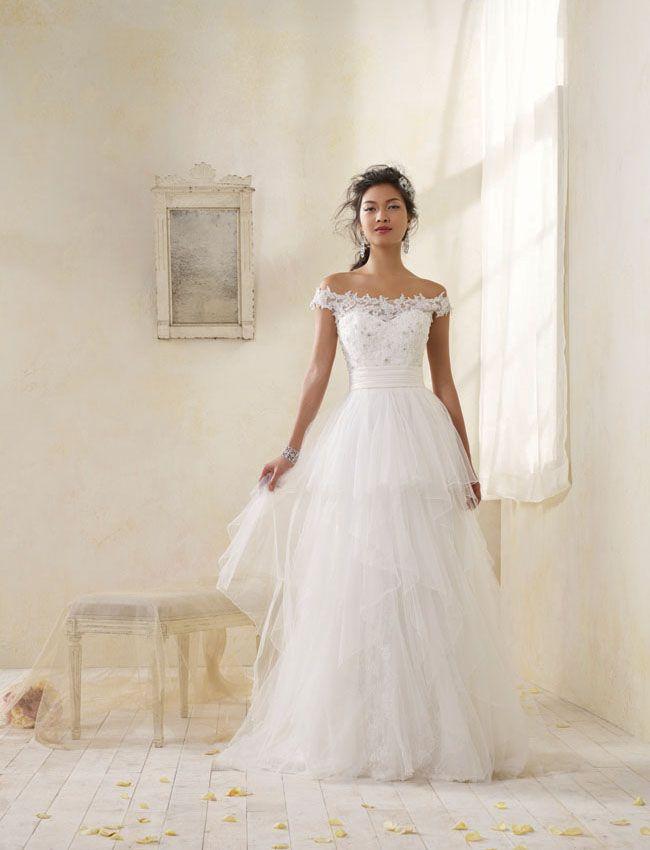 Modern Vintage Bridal by Alfred Angelo | Die braut, Hochzeitskleider ...