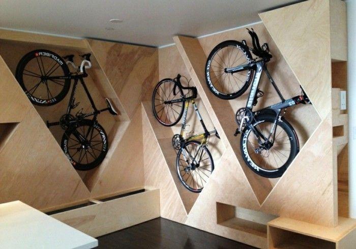 Un rangement vélo ? Nous allons vous aider! 75 idées | Range velo, Rangement vélo garage, Garage ...