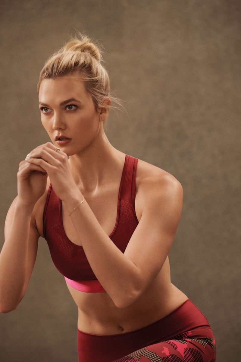 official photos ac310 586a9 adidas enlists Karlie Kloss for Statement Collection campaign