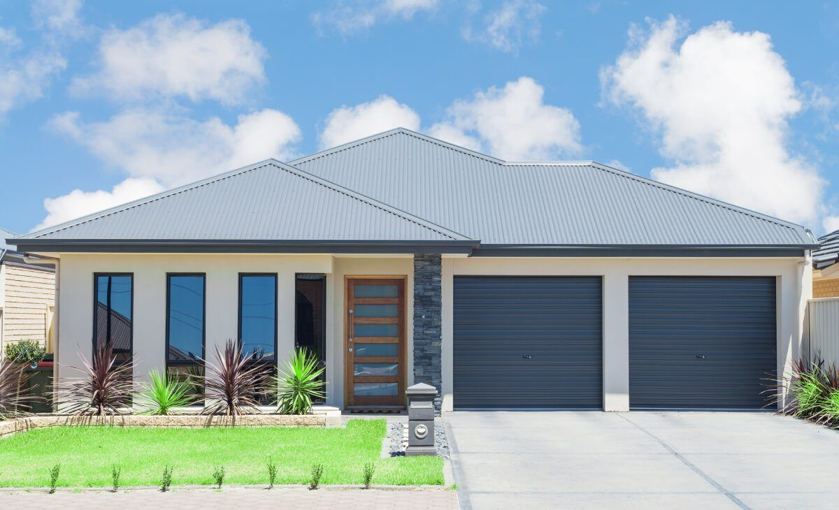 Thinking Of Roof Replacement Think Corrugated Roof Modern Suburban House Local Builders Facade House