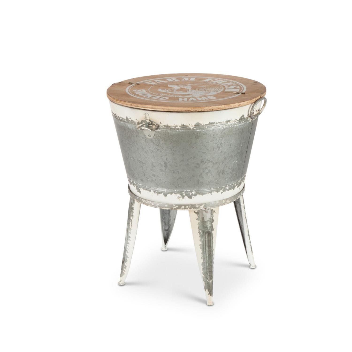 Amazon Com Diva At Home 25 6 Gray And Brown White Washed