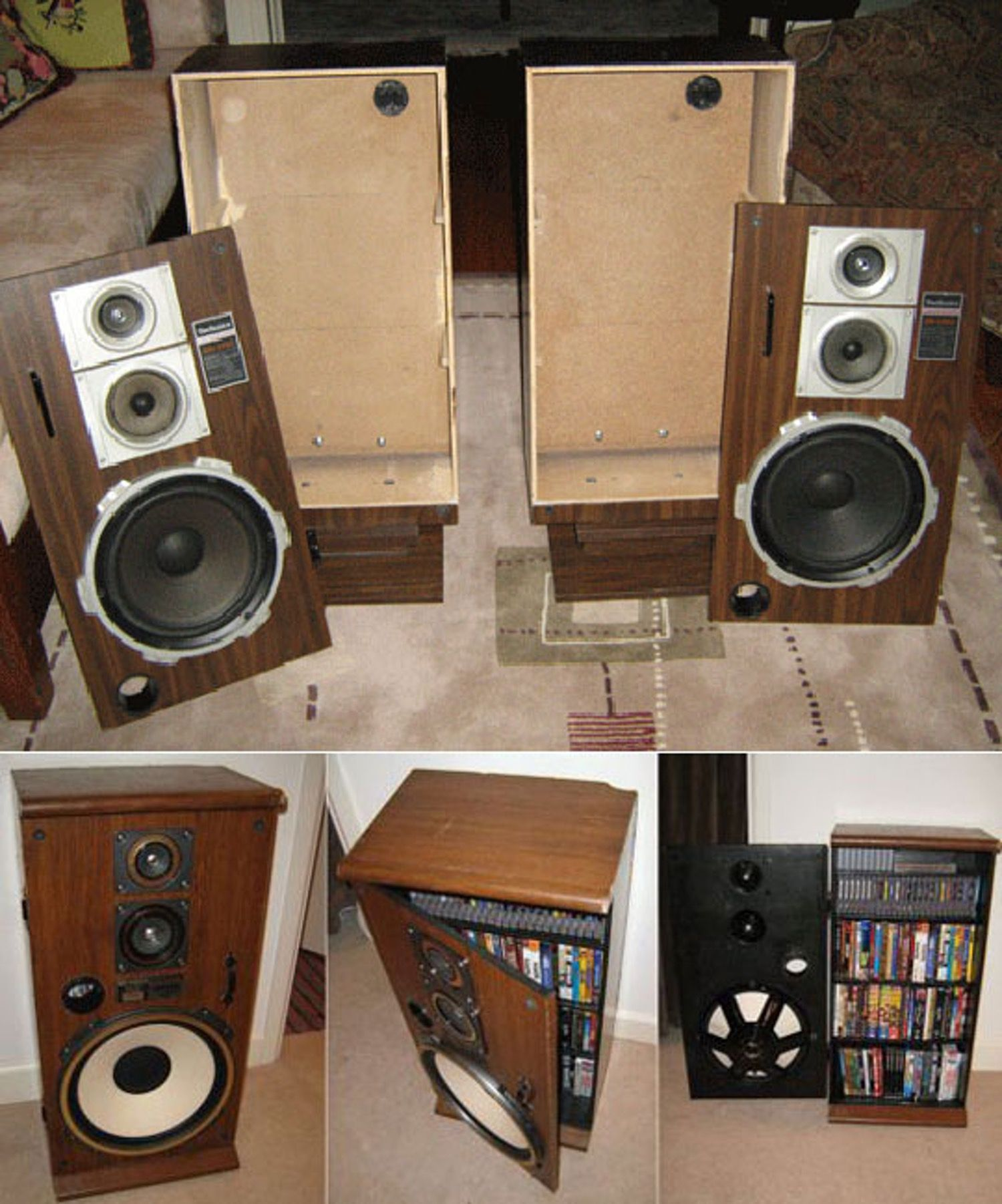 How To: Turn A Stereo Speaker Into A Cabinet