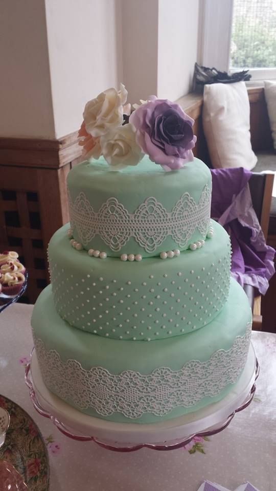 green wedding cakes 48 delicate mint and lavender purple wedding ideas cake 14973