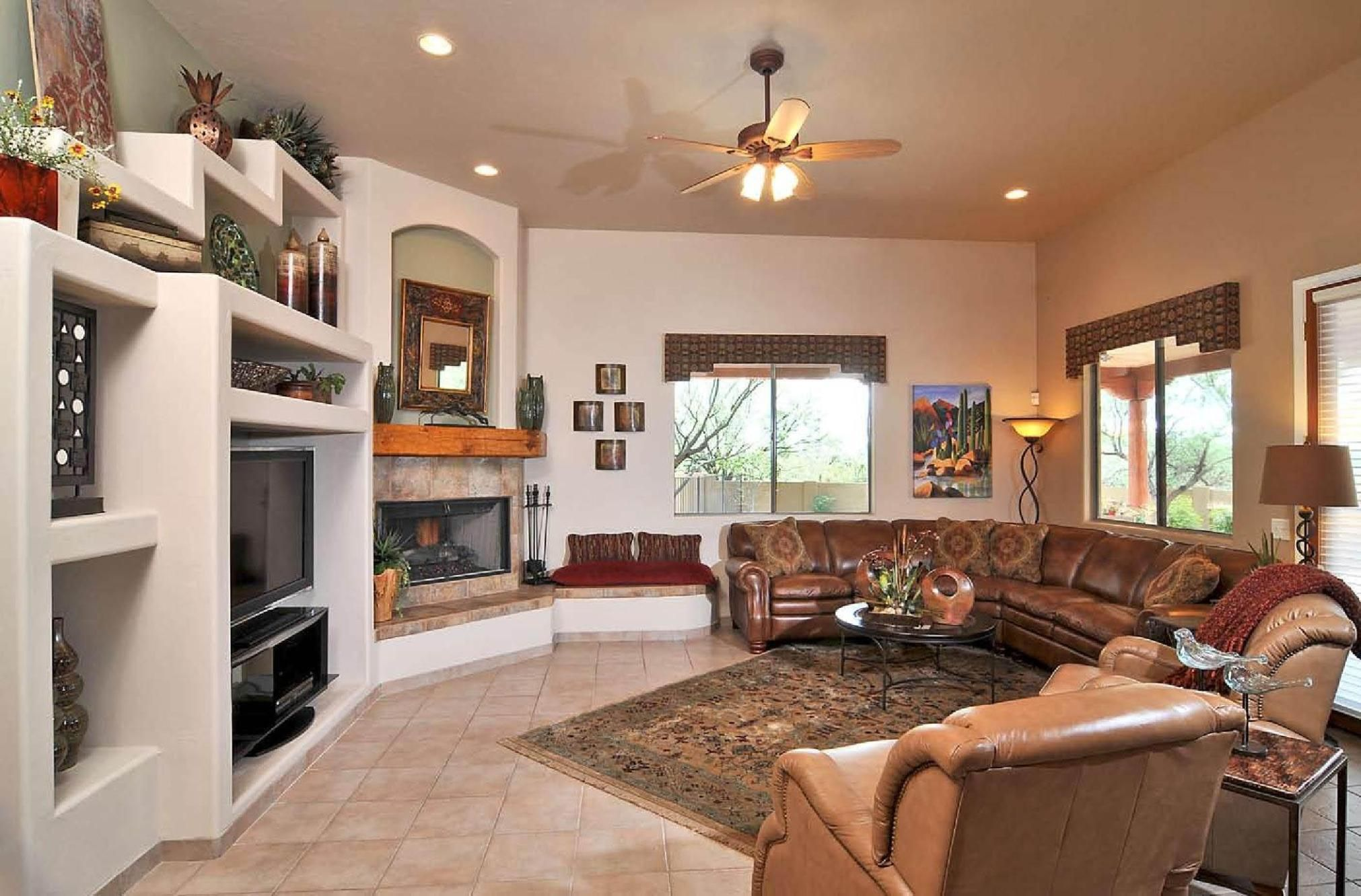 American southwestern home decor ideas design and bold art deco
