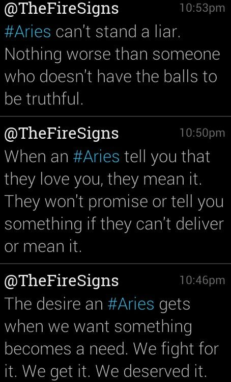 Aries. Hell yea.