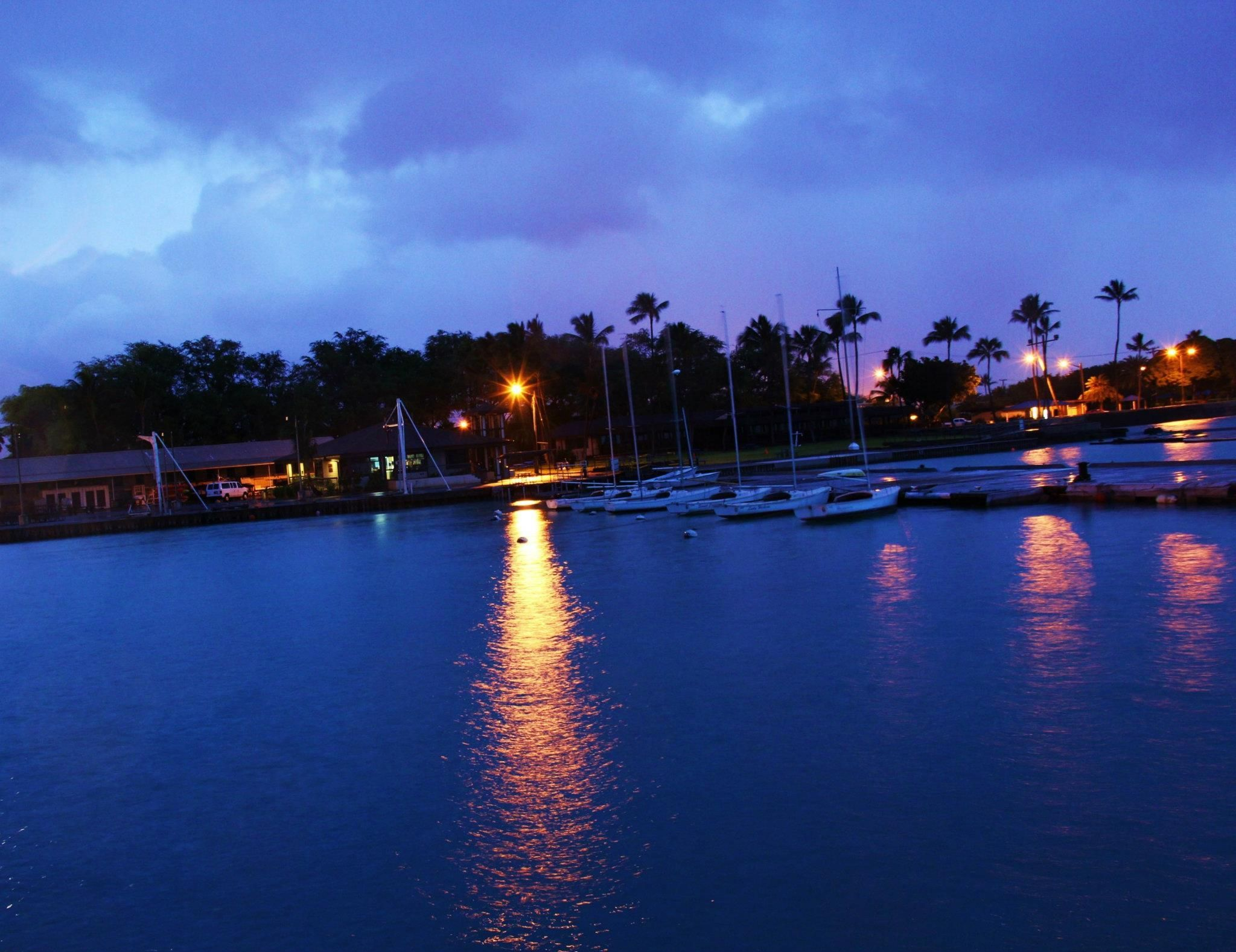 Hickam Air Force Base, Oahu, Hawai'i. LOVED THIS PLACE AS
