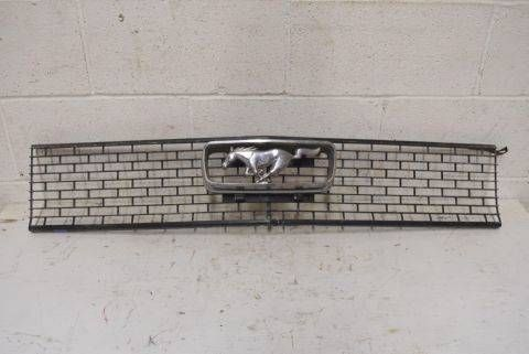 Vintage Ford Mustang Grill - Columbus Architectural Salvage