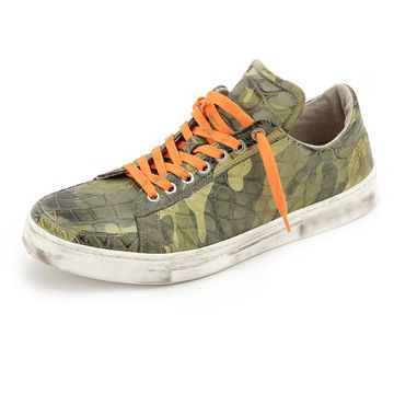 DAMI Shoes sneakers www.damishoes.com  スニーカー Crocodile leather shoes