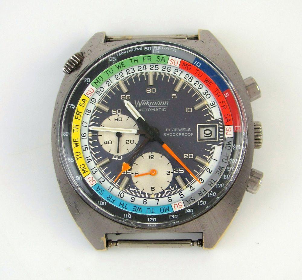 Wakmann Breitling Ragate Yachting Chronograph