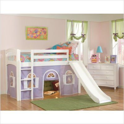 Best What A Great Idea Attach A Slide To The Loft Kids Loft Beds Bunk Bed With Slide Kids Bunk Beds 400 x 300