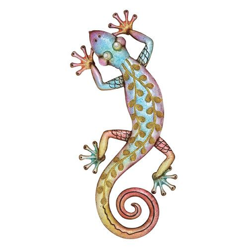 Metal Lizard Wall Decor Metal Gecko Wall Art Gecko Wall Art Lizard