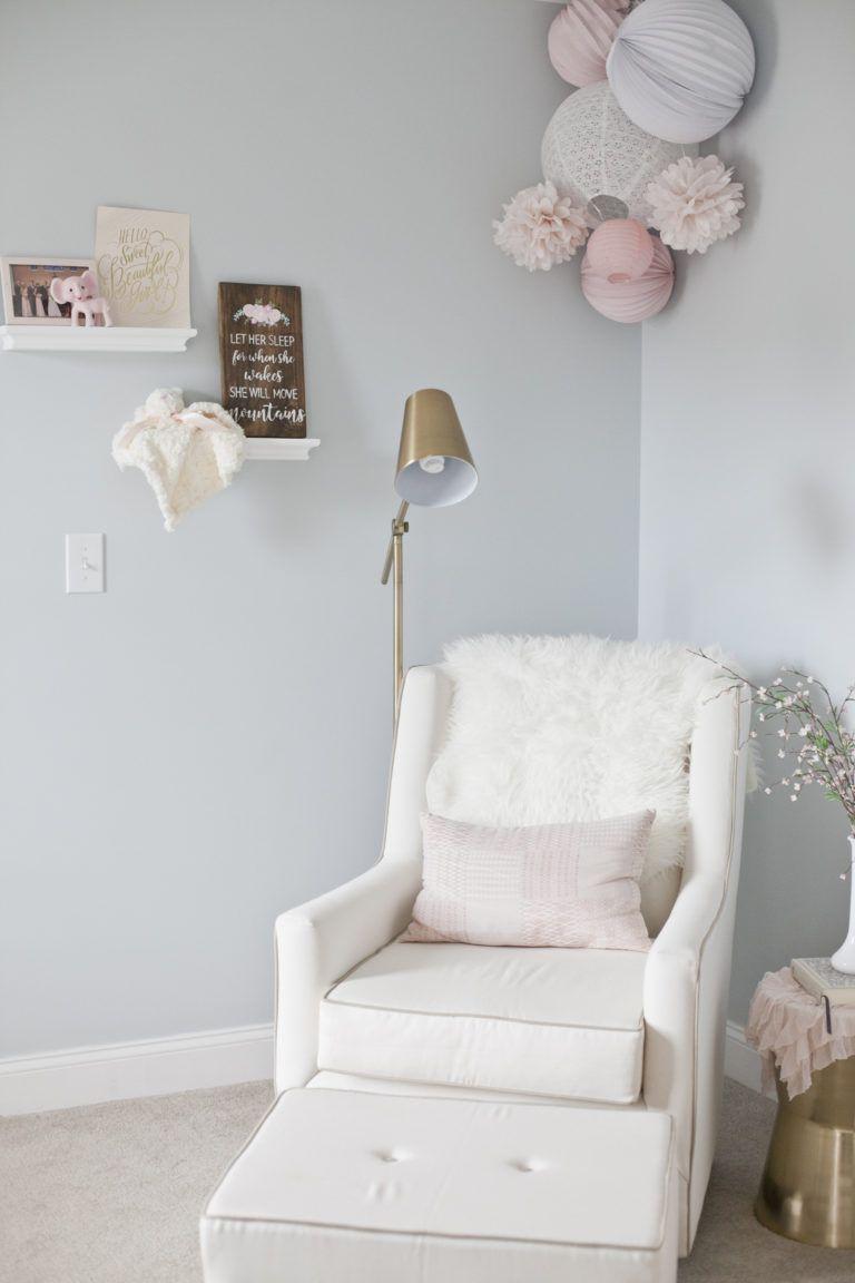 Grace S Dreamy Nursery Avec Images Chambre Bebe Bebe