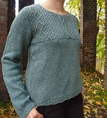 Winter Song pullover