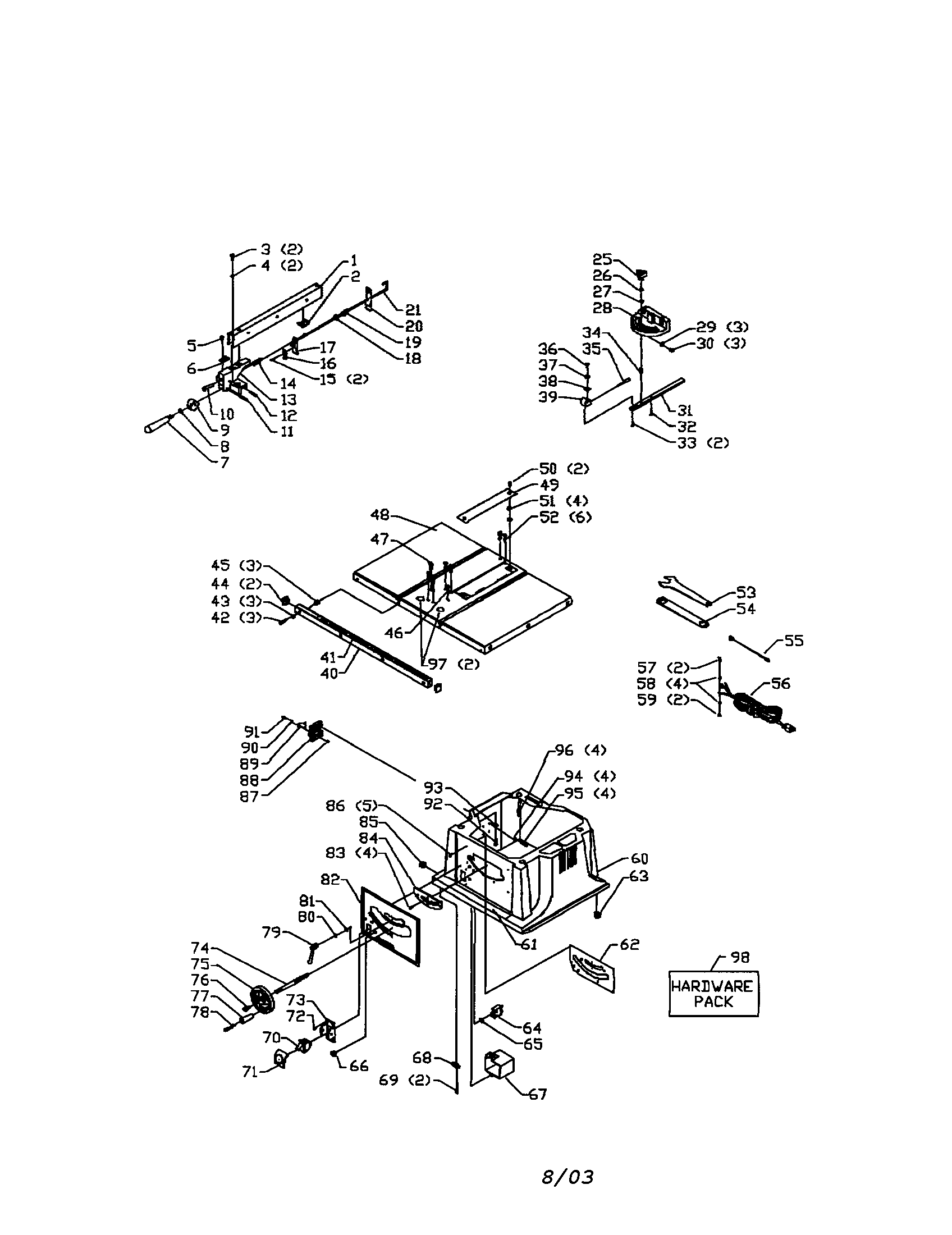 replacing a table saw power box and switch rocket launching with in within delta  wiring diagram