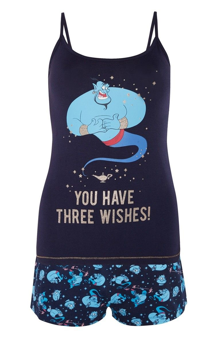 Ladies Pyjamas THE FLINTSTONES Women/'s Girls Cami Vest Shorts UK 6-20 Primark