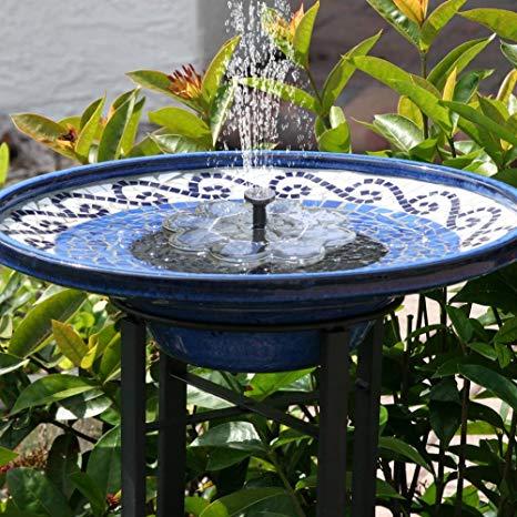 Pin By A J Ybarra On Garden Things Water Fountains Outdoor Bird Bath Fountain Solar Bird Bath