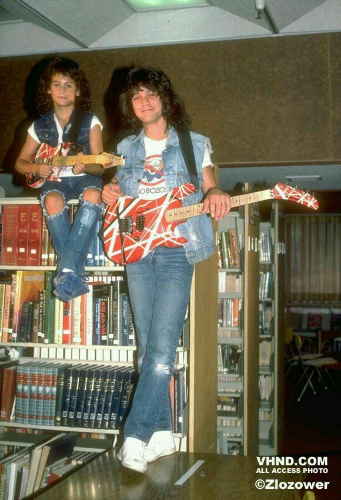 Eddie And Mini Eddie Eddie Van Halen Van Halen Halen