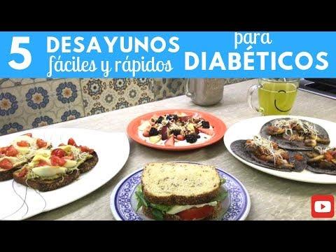 mejores productos para el desayuno para la diabetes